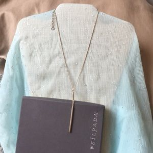 Silpada Waters Edge Lariat Y necklace New
